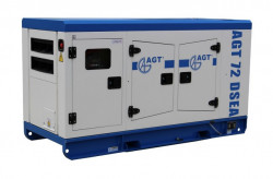 Generator diesel de curent, insonorizat AGT 72 DSEA