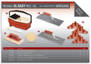 Kit Galeata Easy cu burete Sweepex si accesorii pt. curatat rosturi - Raimondi-436EASYKIT20