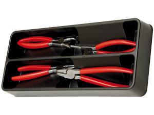 Modul PVC cu 4 clesti inele siguranta manson PVC 4 scule