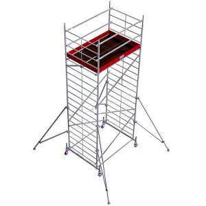 Schela din aluminiu Protec XXL 1,2 x 2m, aluminiu, inaltime lucru 6,3m