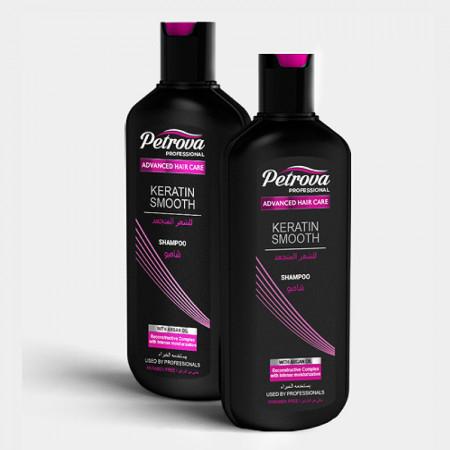 sampon profesional keratin smooth petrova professional