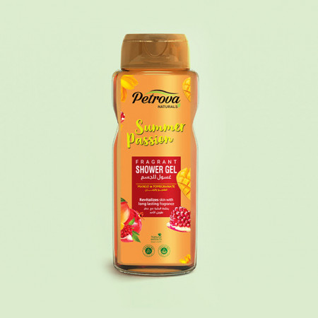 gel de dus summer passion petrova cu mango si rodie