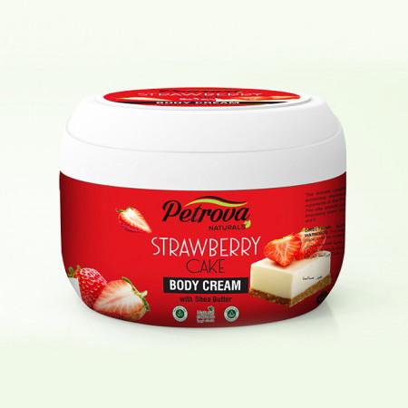 crema de corp petrova strawberry cake