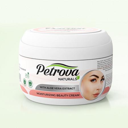 crema de fata moisturising cu aloe vera petrova