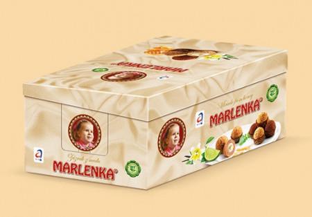 Bile Marlenka cu miere si cacao 235g