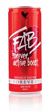 FAB Forever Active Boost Natural Energy Drink ФАБ Натурална енергийна напитка изображения