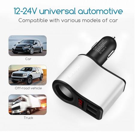 Multifunkcionalni USB punjač za auto