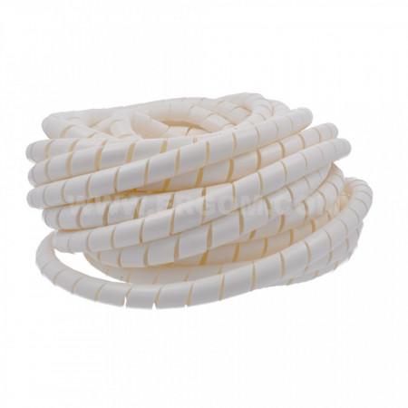 Spiralni bužir 15mm beli