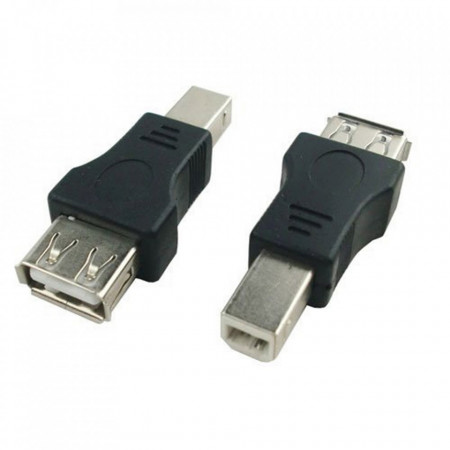 Adapter USB A ženski na USB B muški