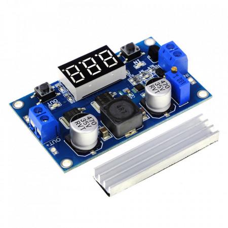 DC-DC step-up konvertor sa LED displejom 6A