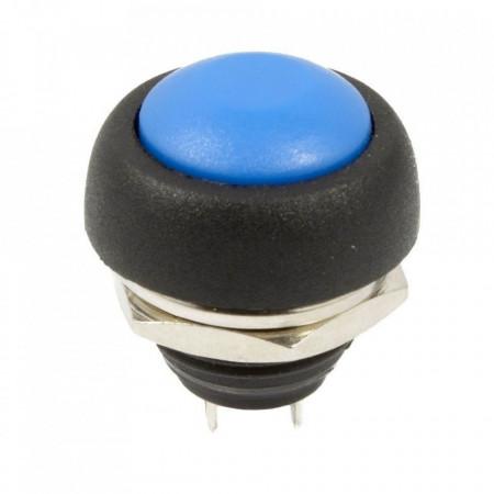 Taster za montažu na šasiju IP65 plavi
