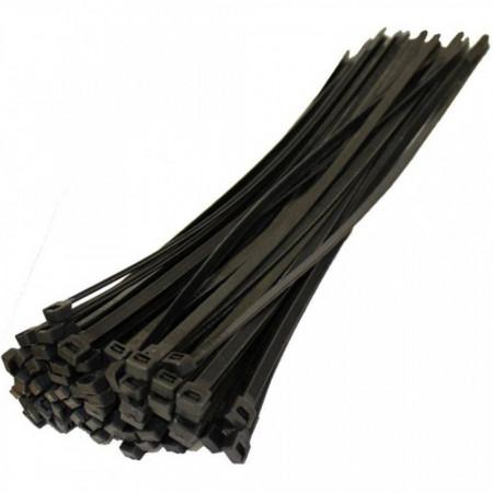Vezica za kabl 200x4.8mm crna
