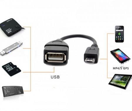 Kabl adapter mikro USB B na USB