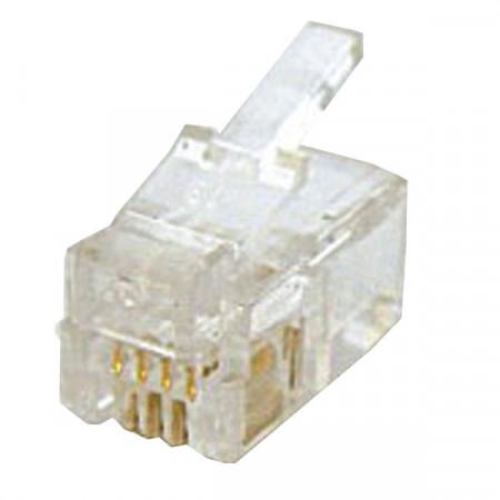 RJ09 konektor muški