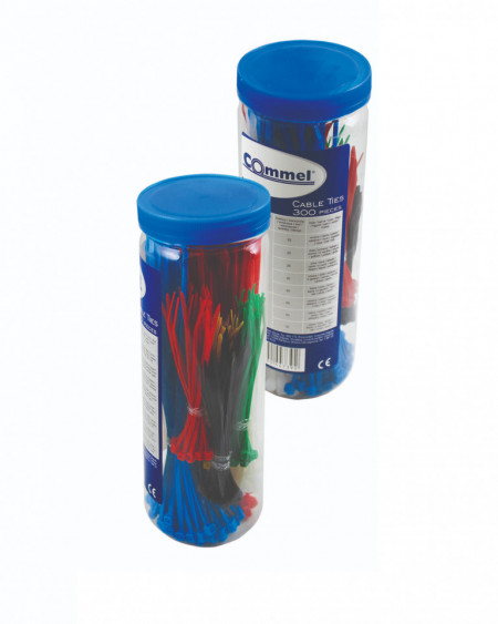Set kablovskih vezica u kutiji 300 komada