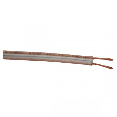 Kabl za zvučnike 2x0.5mm2 providni