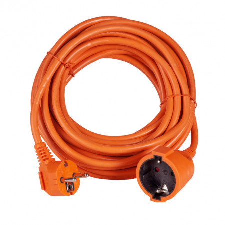 Produžni šuko kabl 3x1.50mm2 10m oranž