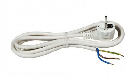 Kabl za napajanje sa šuko priključkom 3x1.5mm2 2.0m beli
