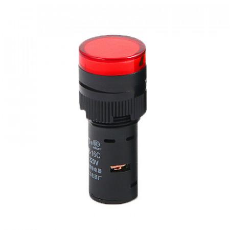 Signalna sijalica 24V AC/DC 16mm crvena