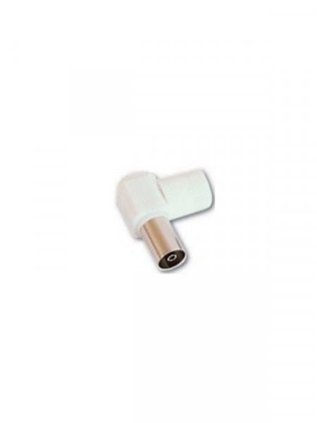 RF konektor ženski plastični ugaoni