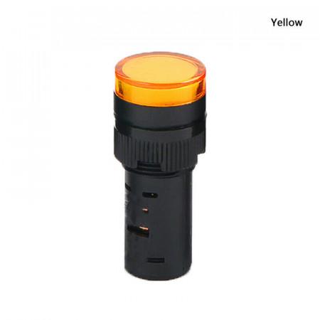Signalna sijalica 12VDC 16mm žuta