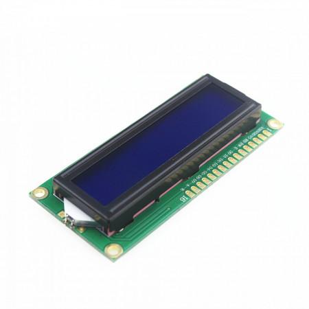 LCD displej 2x16 karaktera plavi
