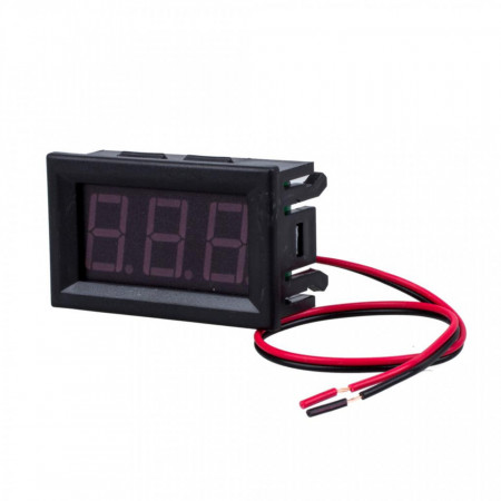 LED voltmetar 4.5-30VDC crveni