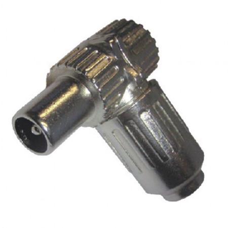 RF konektor muški metalni ugaoni