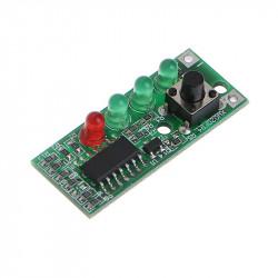 Indikator stanja akumulatora sa LED diodama