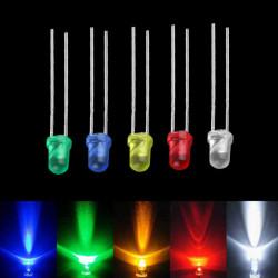 LED dioda 3mm plava difuzna