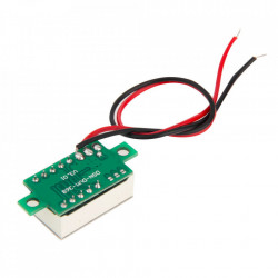 LED voltmetar mini plavi