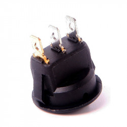 Okrugli prekidač sa LED diodom crveni