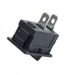 Prekidač 10x15mm 3A 250VAC crni