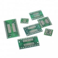 Set adaptera SMD na DIP-7 komada