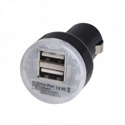 USB punjač za auto sa dva USB porta