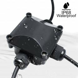 Vodootporna kutija za spajanje kablova sa 3 priključka