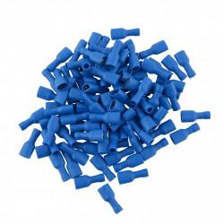 Ženska kablovska papučica 6.3mm izolovana plava