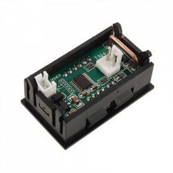 Digitalni LED ampermetar 10A crveni