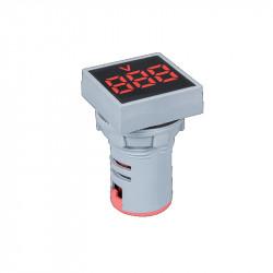 Digitalni LED voltmetar 12-500V EL-ED16S crveni