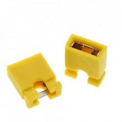 Džamper 2.54mm žuti
