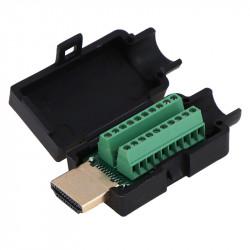 HDMI konektor sa terminal klemama i kućištem