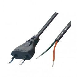 Kabl za napajanje sa viljuškom 2x0.75mm2 1.5m