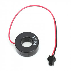 LED ampermetar 0-100A 22mm žuti