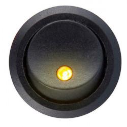 Okrugli prekidač sa LED diodom žuti