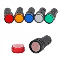 Signalna sijalica 12VDC 16mm crvena
