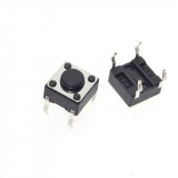 Taster za PCB montažu 6x6x4.3mm-50 komada