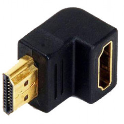 Adapter HDMI muško-ženski ugaoni
