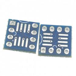 Adapter SOP8/SO8/SOIC8 na DIP8