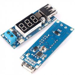 Dc-dc konvertor sa USB izlazom i LED voltmetrom