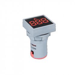 Digitalni LED ampermetar 0-100A EL-ED16S crveni